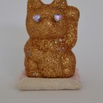 Stardust in my eyes 2014 glitter, plastic stars and rhinestones on ceramic, plaster 11x 8x 8cm