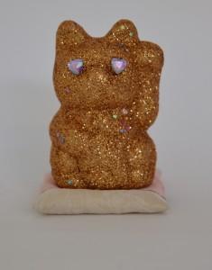 Stardust in my eyes 2014 glitter, plastic stars and rhinestones on ceramic, plaster 11x 8x 8cm