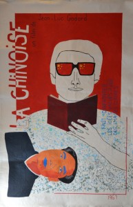 La Chinoise poster, 2016, Acrylic on canvas, 95 x 145cm