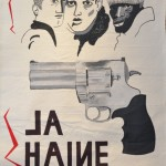 La Haine poster, 2016, Acrylic on canvas, 95 x 145cm