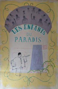 Les Enfants du Paradis poster, 2016, Acrylic on canvas, 95 x 145cm