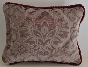 Stocks (back), 2016, repurposed tea toel, embroidery, cloth, trims, 27 x 36 x 7cm