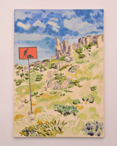 Michele England - Landscape under construction Mt Kosciusko